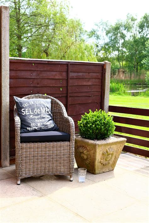 Country Patio Furniture Our Country Cottage Comfort And Views On The Patio Dear Designer