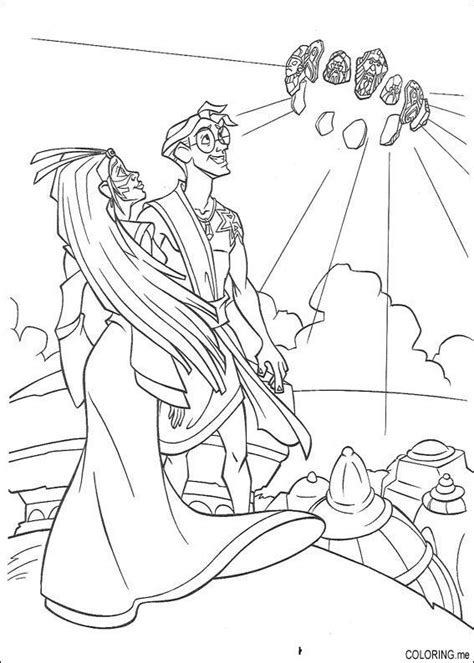 princess kida coloring page coloring page atlantis the lost tales kida and milo