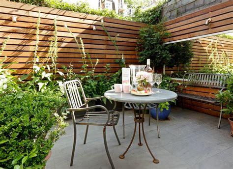 transform a small garden into a little piece of paradise