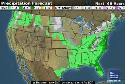 united states weather map today