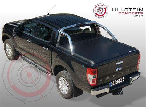 Limited Top abdeckung alurollo black ford ranger doppelkabine limited