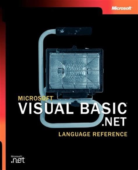 reference book for visual basic ebook microsoft visual basic net language reference pro