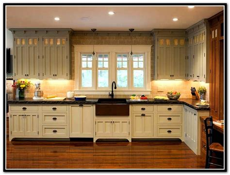 kitchen cabinets craftsman style white craftsman style cabinets roselawnlutheran