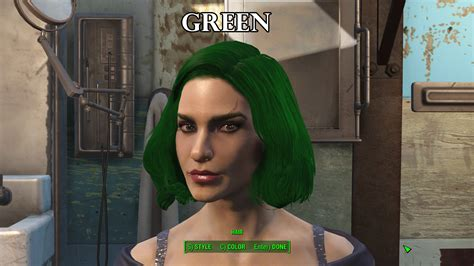 hair and face models fallout 4 zella s hair dye collection fallout 4 fo4 mods