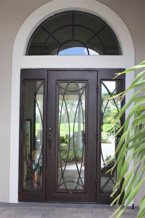 Interior Iron Doors This Single Regio Iron Door With Sidelights Is A Door Fit For A King Order One Today At