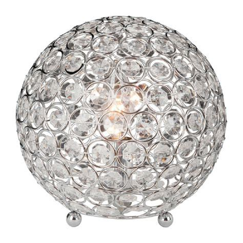 crystal home decorations elegant designs crystal ball table l shopko
