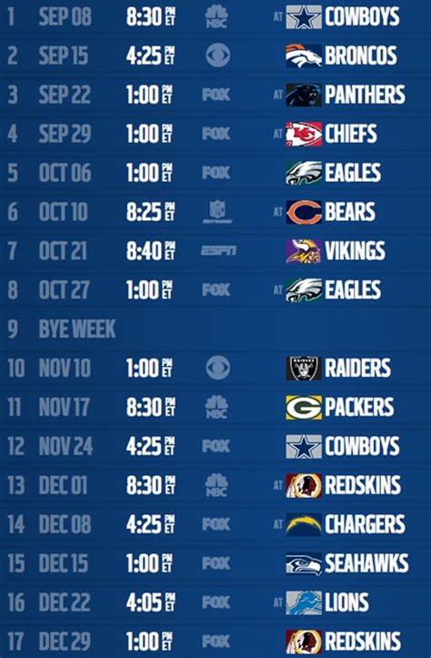analysis new york giants 2013 schedule nfl