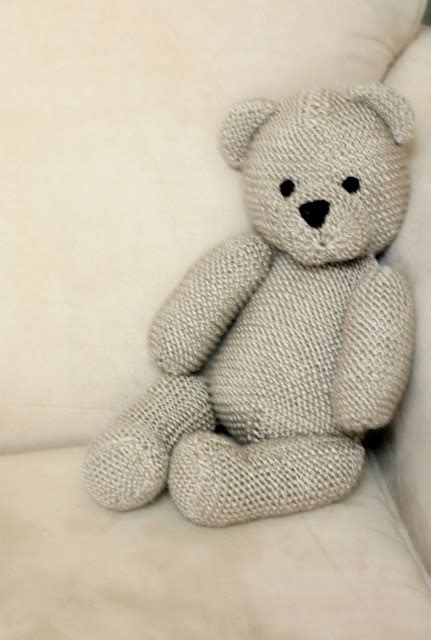 knitted teddy teddy knitting pattern patterns