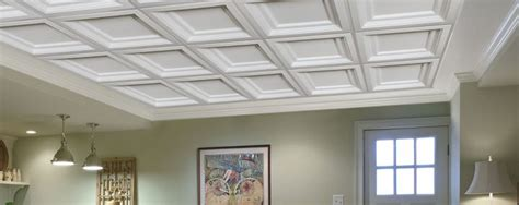 coffered drop ceiling tiles coffered ceilings easy elegance ceilings by armstrong