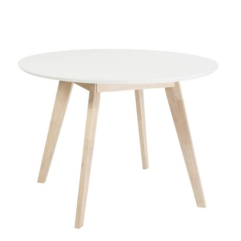 White Table by Style Montana Collection Montana 42 Quot Dining