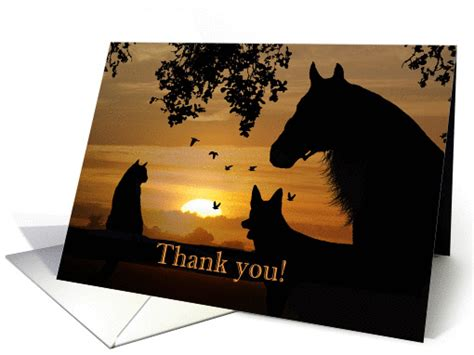 free printable thank you cards for veterinarians thank you from veterinarian card 1276102