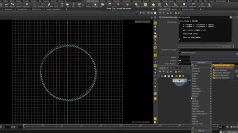pattern maker xpresso how to circle pattern vex in houdini cg tutorial