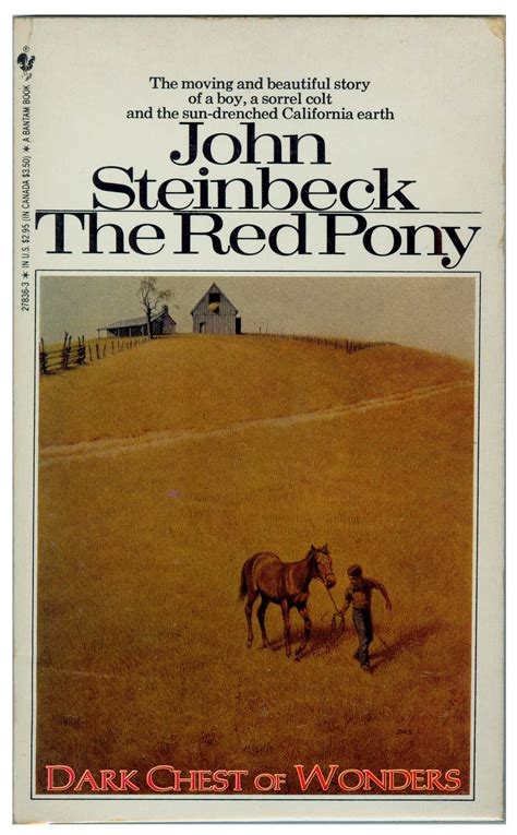 by john steinbeck the red pony by john steinbeck dark chest of wonders