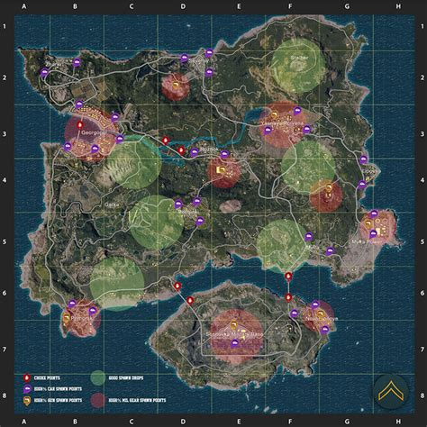 pubg loot map playerunknown s battlegrounds гайд для новичков guides