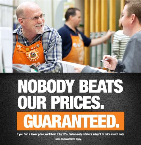 what is the home depot s price guarantee the home depot