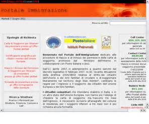 portale immigrazione automazione permessi carte di soggiorno portaleimmigrazione it portale immigrazione automazione