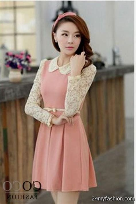 Dress Korea Pink By Griyaaglie korean dresses pink 2016 2017 b2b fashion