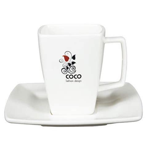 Tazzina caffè personalizzata con il tuo logo in decalcomania resistente   Tazze Mugs personalizzate
