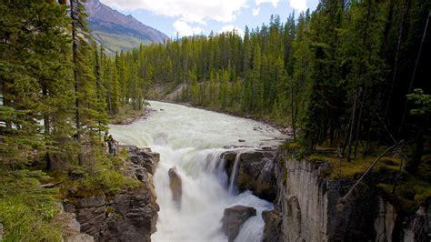 18 Meters To Feet by Sunwapta Falls In Jasper Alberta Expedia