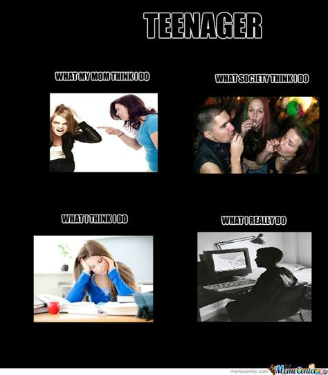 Teenager Memes - teenager by author meme center