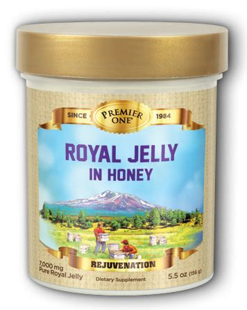 Royal Jelly Serbuk 1 royal jelly in honey 7 000 mg 5 5 ounces made by premier one