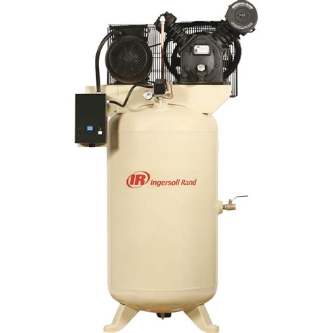 free shipping ingersoll rand type 30 reciprocating air compressor 7 5 hp 230 volt 1 phase