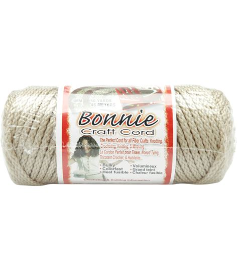 Bonnie Braid Cord - bonnie macrame braid craft cord 4mm 50 yards jo