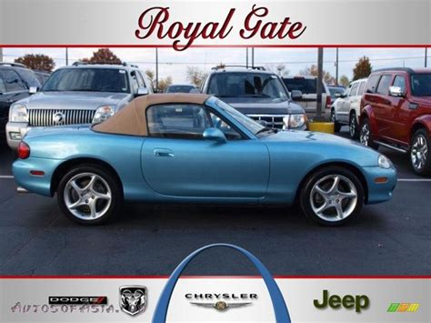 crystal ls for sale 2001 mazda mx 5 miata ls roadster in crystal blue metallic
