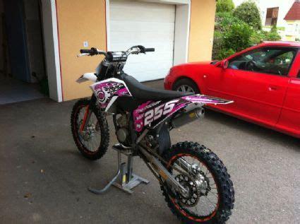 Motocross Motorrad Pink by Umgebautes Motorrad Ktm 150 Sx Von Tm250treiba 1000ps At