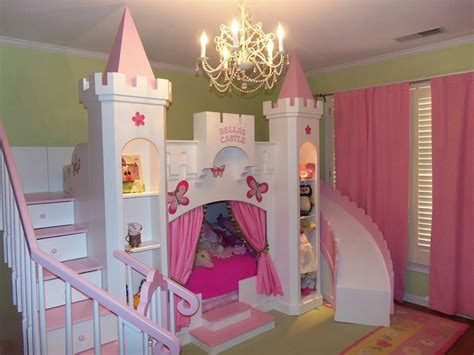 5 beds in one room princess bed for the 5 year old for the home pinterest