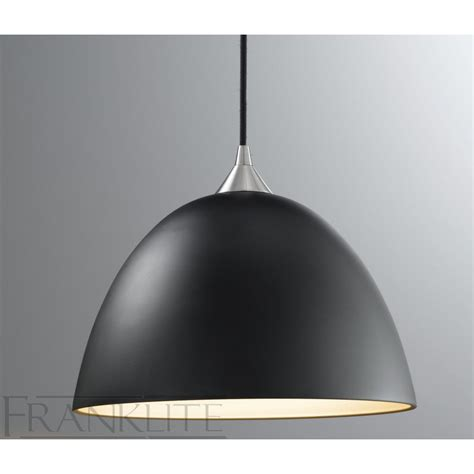 Black Pendant Light Franklite Fl2290 1 931 Black Glass Single Pendant Light Love4lighting