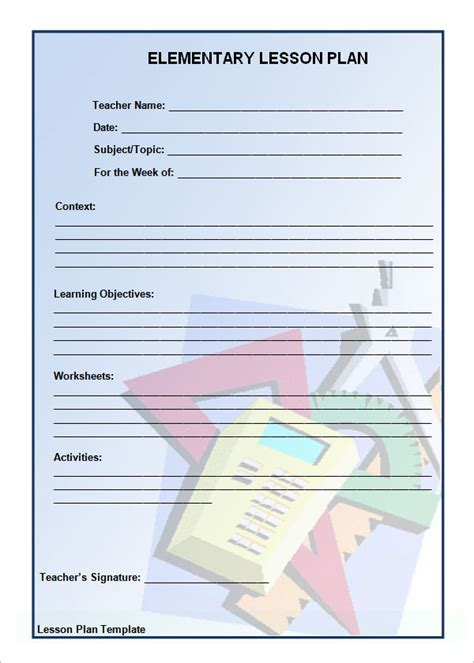 unit plan template elementary unit plan template 11 documents in pdf word