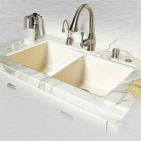 ceco kitchen sinks ceco doheny 748 33 quot x 19 1 2 quot x 8 quot cast iron bowl
