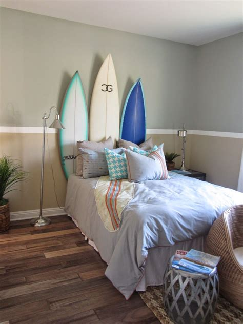 surf decoration surf theme bedroom home decor interior design surf