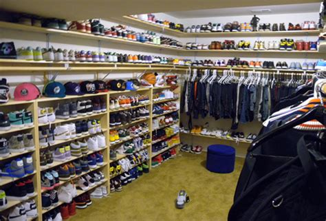Hip Hop Closet by A Word From Hip Hop Chris Brown S Sneaker Closet