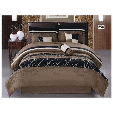 luxury cal king comforter sets jbff luxury embroidery bed in bag microfiber comforter set