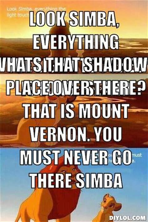 Lion King Shadowy Place Meme Generator - lion king shadow meme generator image memes at relatably com