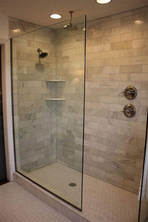 Design Of The Doorless Walk In Shower Indretning Shower No Door