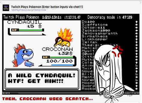 Ffffuuuu Meme - ffffuuuu rage twitch plays pokemon know your meme