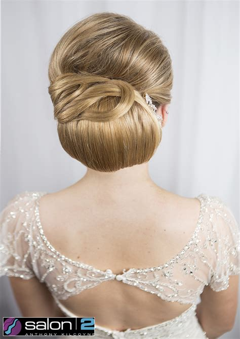 up style for 2016 hair structured chignon salon 2