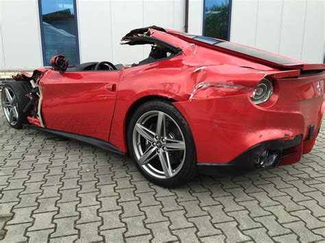 how much is the f12 what would you do with a trashed f12 berlinetta