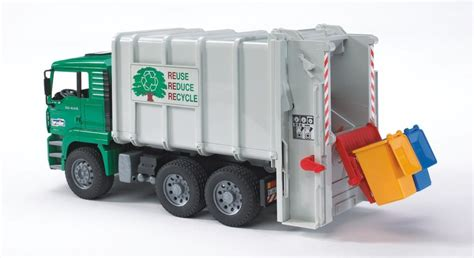 amazone bassura bruder 02765 camion benne man vert jaune amazon fr
