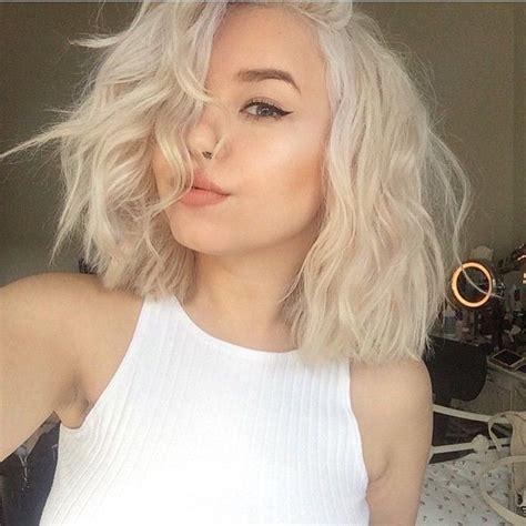 platinum blonde bob hairstyles pictures platinum blonde bob google search hair pinterest