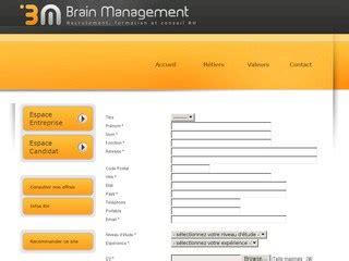 Brain Management brain management au maroc recrutement 224 casablanca par