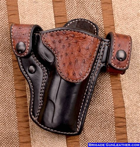 Handmade Leather Pistol Holsters - brigade custom holsters leather gun holsters concealed