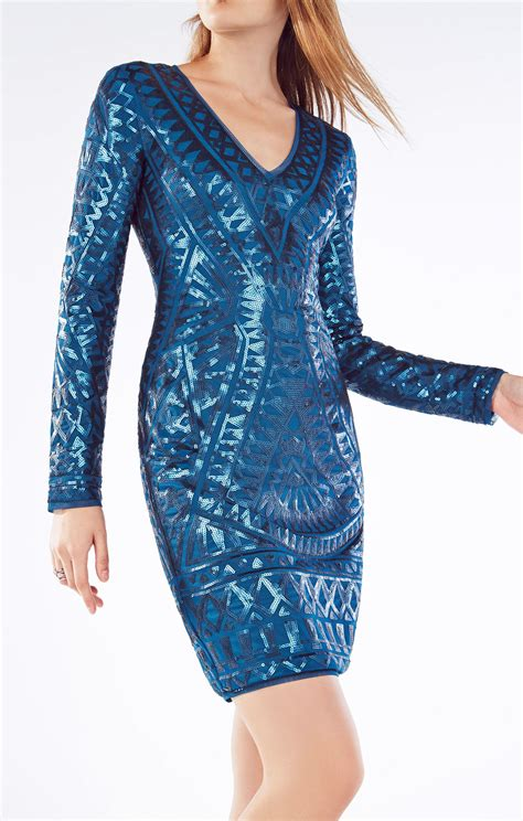 Dress Tile morris mosaic tile sequined dress