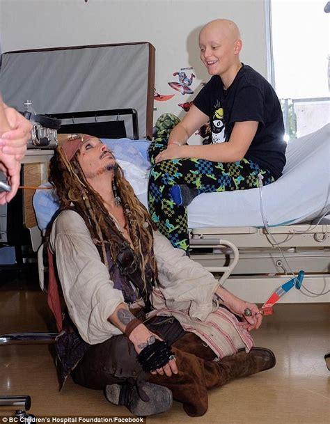 Johnny Depps Hospitalized by Johnny Depp Entertains Sick At Vancouver Hospital