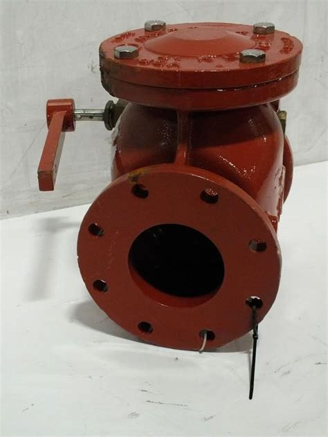 4 Inch Kennedy Clow Fig 1106 Flanged Swing Check Valve