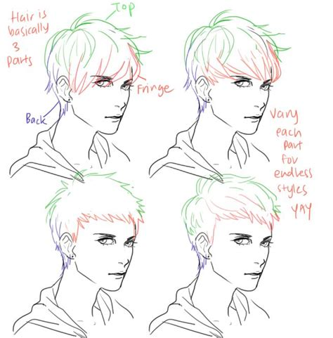 short hairstyles drawings 473 best images about draw hair for your characters on