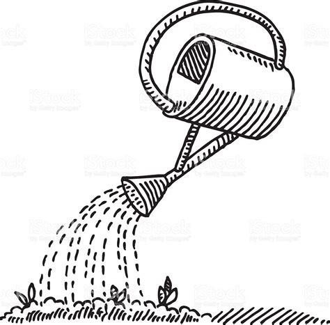 watering can coloring page 446
